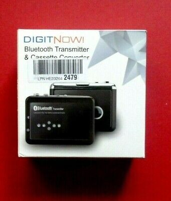 Portable Digital Bluetooth Cassette Tape To Mp3 Player Converter Recorder