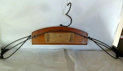 Antique - Belmar Suit and Skirt Holder - Hanger - Old and Unusual