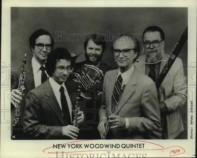 1989 Press Photo Members of the New York Woodwind Quartet. - sap30217