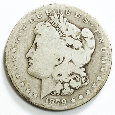 1879-S Morgan Dollar, Reverse of '78 - AG - $1 Silver