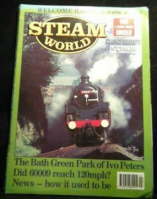 Steam World #34 1990 April LNER A4 Pacific No. 60009  Line to Lakeland
