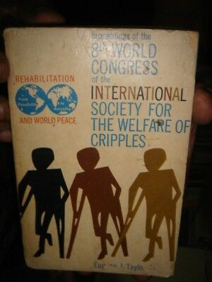 India - 8Th World Congress International Society For The Welfare Of Cripples
