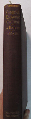 Mines Mining Mineral Resources General Economic Geology Geological Textbook 1922