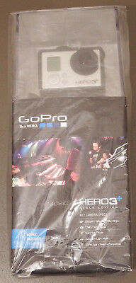 Brand New Factory Sealed GoPro Hero3+ Music Black Edition Camcorder