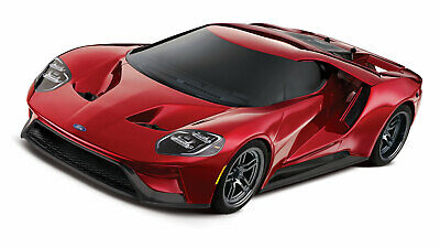 Traxxas 4Tec 4x4 Ford GT Tourenwagen Rot Brushed 1/10 RTR o. Akku/Lader 83056-4