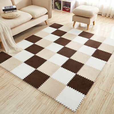 Soft EVA Foam Pattern Puzzle Mat Pad Floor Crawling Rugs Children Toy Games Gift