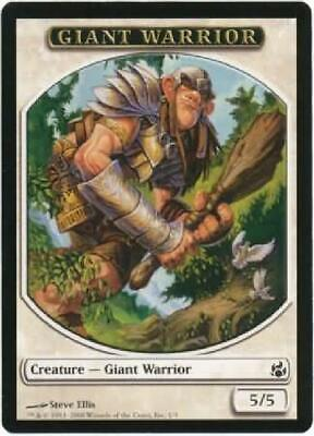 8x Giant Warrior Token New MTG Morningtide Magic