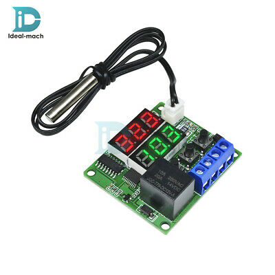 Digital Dual LED Cycle Timing Delay Timer Relay Module Clock Controller DC 12V