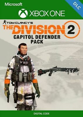 Tom Clancys The Division 2 Xbox One - Capitol Defender Pack DLC | REGION FREE