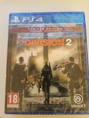 Tom Clancy's The Division 2 PS4 Limited edition