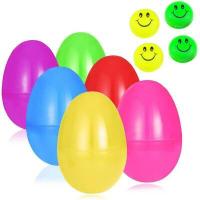 Kids Easter Eggs Filled with Mini Smile Ball Easter Party Children Toy N4U8