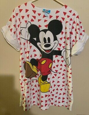 1980 Comic Relief Mickey Mouse T Shirt Size Small