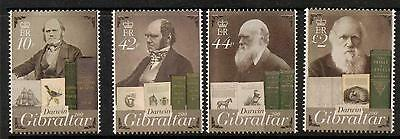 Topical Stamps Gibraltar Block90 Mint Never Hinged Mnh 2009 Charles Darwin