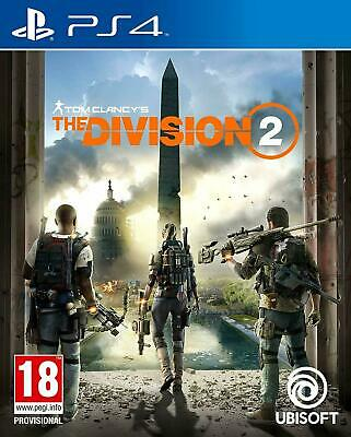 The Division 2 Sony PS4 Game (UK NEW & SEALED) Combat Action RPG Shooter