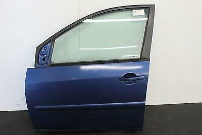 2007 FORD FIESTA MK6 5 Door Hatchback Blue N/S Passengers Left Front Door