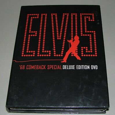 ELVIS '68 Comeback Special Deluxe 3 Disc Set DVD MORE RCA Graceland