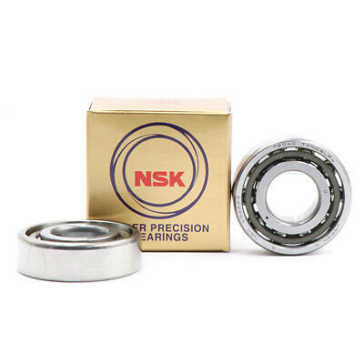 Matched Set of Two NSK 7002CTRSULP4Y Abec-7 Super Precision Spindle Bearings