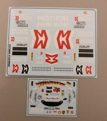 "Christmas Special🎄Ferrari SF71-H S. Vettel ""Japan GP Decals"" Mission Win 1/43"