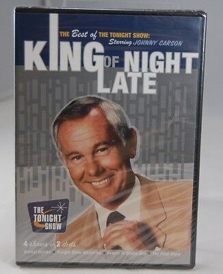 SEALED NEW DVD Tonight Show Best of Johnny Carson King Of Late Night SHIPS FREE