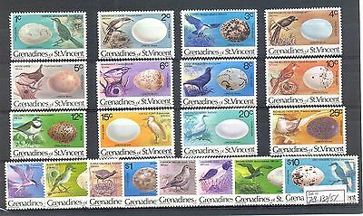 English Colony  Grenadines St. Vincent 1978  20 St..birds  **  Mnh Vf @2