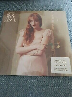 High As Hope by Florence + The Machine... new & sealed yellow vinyl