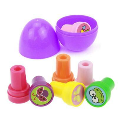 Kids Easter Eggs Filled with Cartoon Seal Easter Party Home Children Toy N4U8