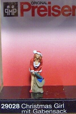 HO Preiser 29028 Santa's Helper with Gifts FIGURE ( Ships from Chicagoland )