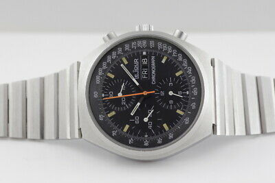 LE JOUR AVIATOR'S AUTOMATIC CHRONOGRAPH c1980s (MODEL REF: 7500), GOOD CONDITION