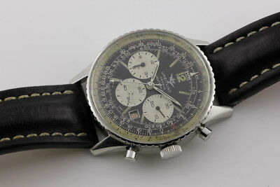 BREITLING NAVITIMER CHRONOGRAPH c1970s (MODEL REF: 7806), GOOD CONDITION!!!