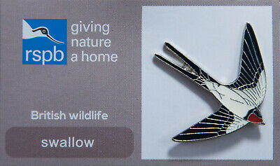 RSPB Pin Badge | swallow GNAH (00575)