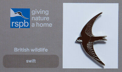 00592 RSPB Pin Badgeswift GNAH
