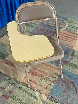 Folding Tablet Arm Chairs