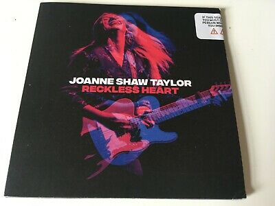 Joanne Shaw Taylor SEALED 2019 PROMO CD ALBUM Reckless Heart