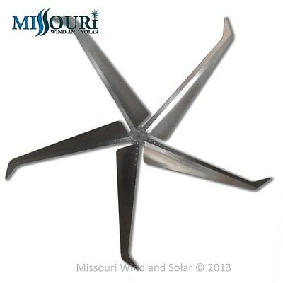 Missouri Falcon 80.5 Inch Diameter 5 Blade and Hub Set Made in the USA