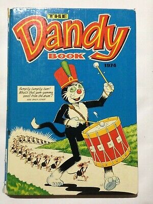 THE DANDY BOOK 1974 Annual. Good Condition. **Free UK Postage**