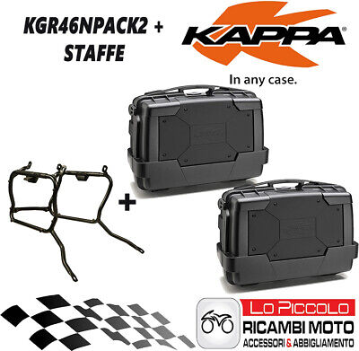 Ktm 1190 Adventure 2015 2016 Kit 2 Valigie Laterali Kgr46N + Klr7706 Staffe