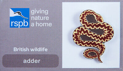 RSPB Pin Badge | adder GNAH (00002)