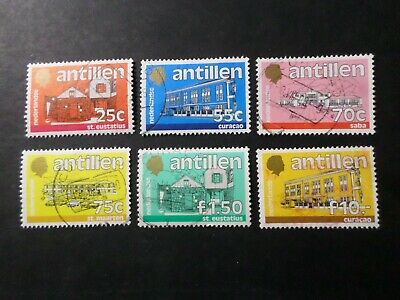 Antilles Netherland, Pack Stamp Obliterated Dont 803,VF Used Stamps