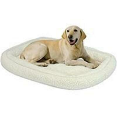 Midwest Container-Beds-Quiet Time Deluxe Double Bolster Bed- White 30x23 Inch...