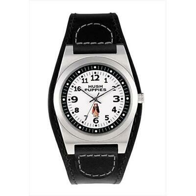 Hush Puppies HP.3115M00.2506 Mens Cuff 3 Hand Minute Track White Dial Watch