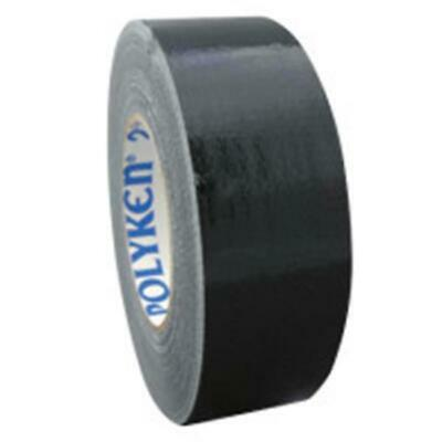 Polyken 573-1086702 2 in x 60 yd 9 mil 203 General Purpose Duct Tapes - Black