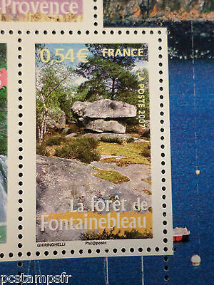 FRANCE 2007, timbre 4016, REGIONS, FORET DE FONTAINEBLEAU, neuf , MNH STAMP