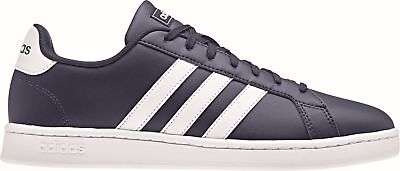 Adidas Core Men's Recreational and Fitness Shoes Grand Court Dark Blue