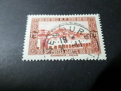 Algeria, 1936-37, Stamp 119, Landscapes, Obliterated, Seal round VF Used Stamp