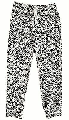 Kids GAP Girls IVORY GREY Jacquard Shimmer Knitted Pants Trousers 6-9y £19.95