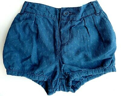 Baby GAP Girls MID BLUE Vintage 40's Style Shorts Knickers Pants 2-5y £14.95