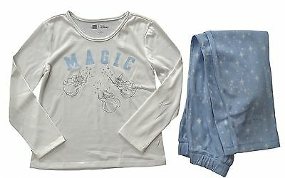 GAP Girls DISNEY CINDERELLA Pyjamas BLUE Sleepwear Top Pyjamas Set 4-13y £34.95