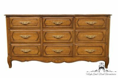 "DAVIS CABINET CO. Solid Umberwood Country French 60"" Dresser 901"