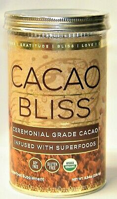 DANETTE MAY CACAO BLISS Ceremonial Grade Cacao Powder with Superfoods