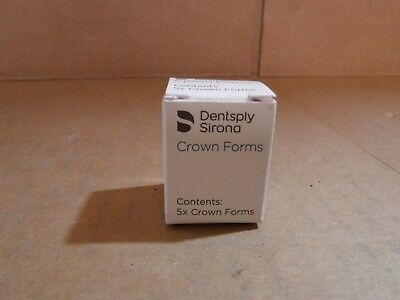 New Dentsply Sirona 10 Crown Forms Size A3 Central Xl Item 611563